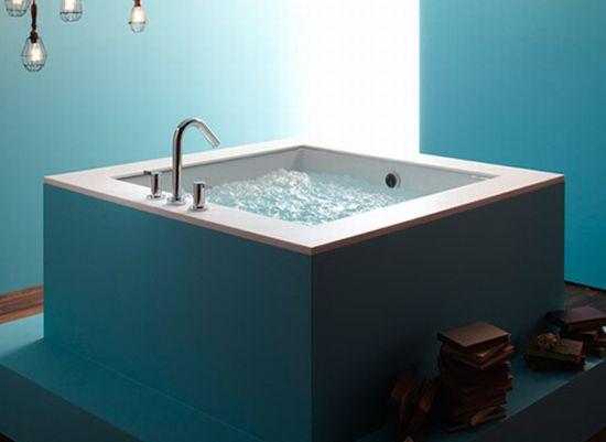 cube bathtub underscore kohler