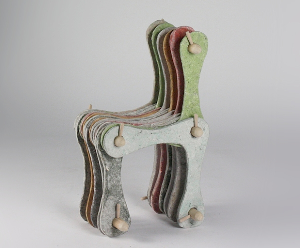 Cultural Chair by designer Seung Han Lee
