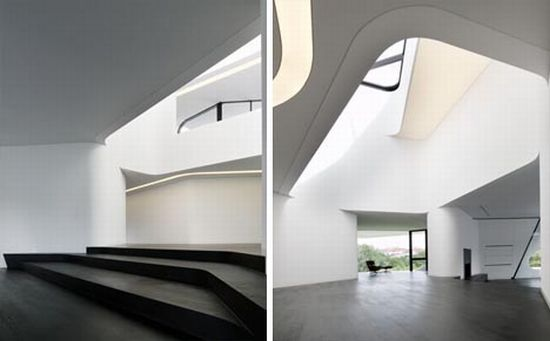 curved modern house 1