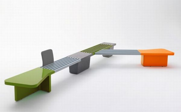 Cut seating monotony with Abracadabra Bench