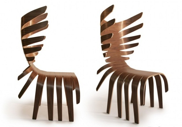 Deer looking chair by Antonio Pio Saracino
