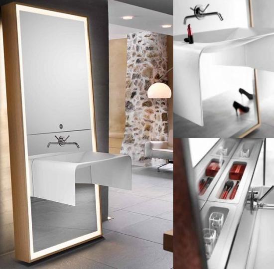 delpha bathroom mirror o image 1