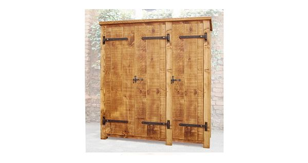 Denby Pine 3 Door Wardrob