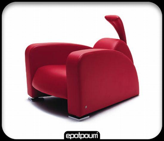 designer ferrari leather arm chair xlvPZ 11536
