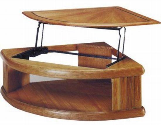 Multi tasking Herrington Lift Top Coffee Table Hometone