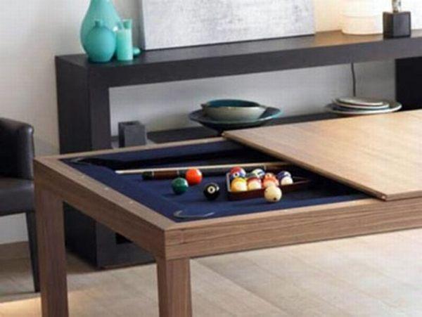 Dining Cum Billiards Table