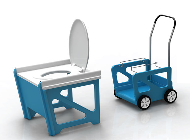 Disaster Relief Toilet System by Rahim Bhimani