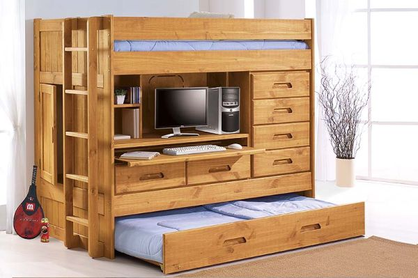 Discovery all-in one bunk bed