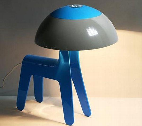 dog lamp-