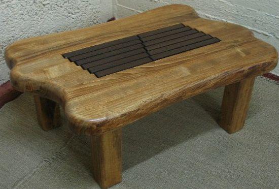 double xylophone table