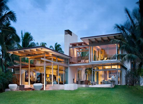 Astounding tropical house design by pete bossley for Architecture design dream house