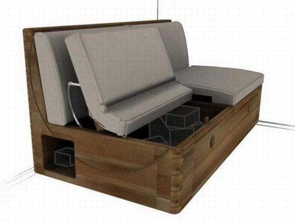 Dual-purpose Sofabox