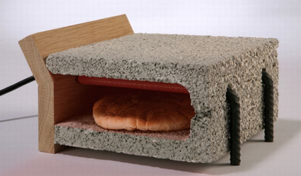 Earthy toaster
