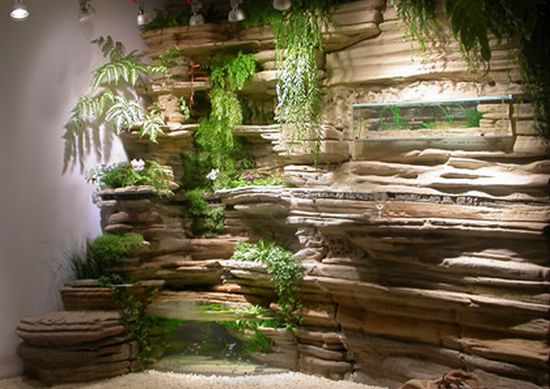 eco sculpture walls