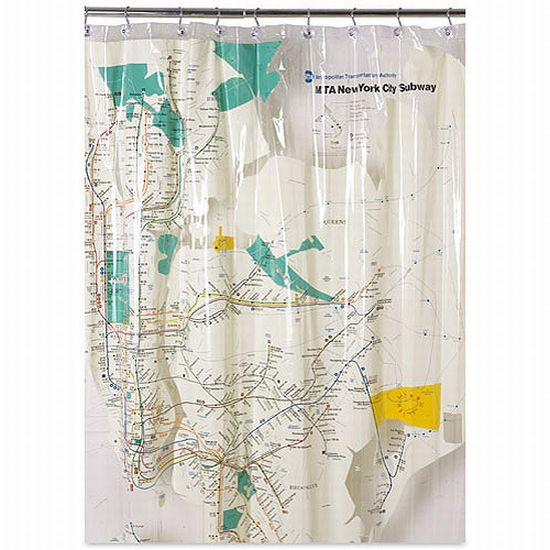 Educational Shower Curtains 3