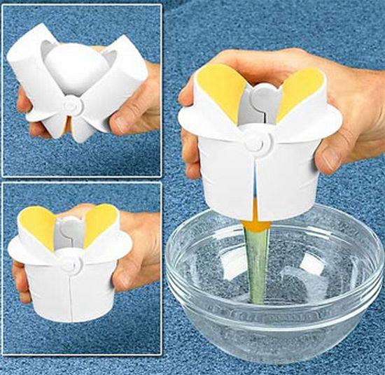 egg crack gadget