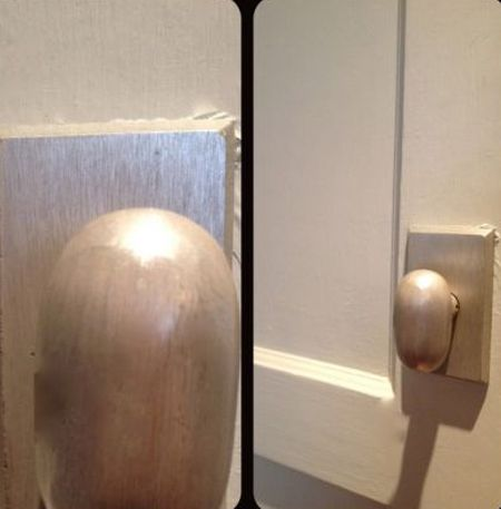 egg shaped doorknob