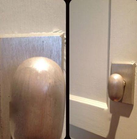 egg shaped doorknob