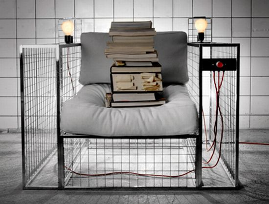 Modern Electric Execution Chair