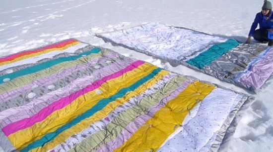 electronic quilts