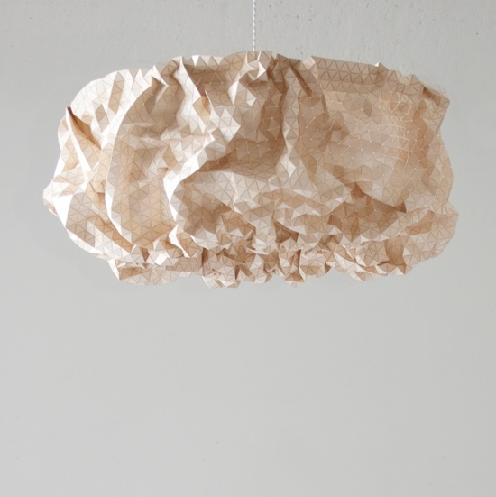 elisa strozyk wooden pendant lampshade