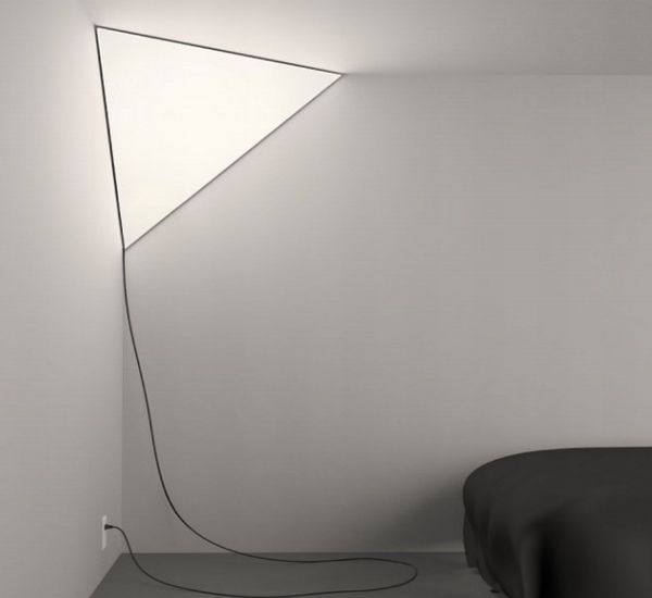 Make a lighting statement with triangular lamp hometone for Product design consultancy bristol
