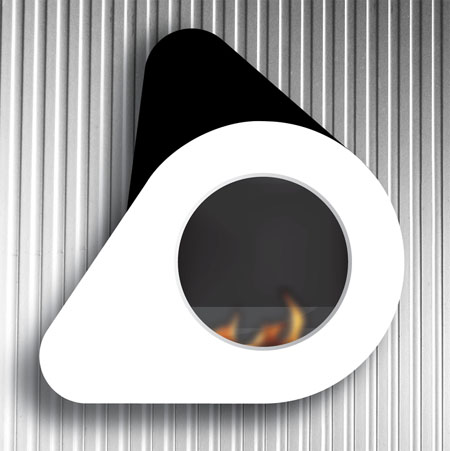 ethanol fireplace model evo gives clean safe and u