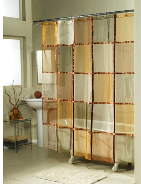 Designer shower curtains 7 most stylish hometone home for Home automation shower