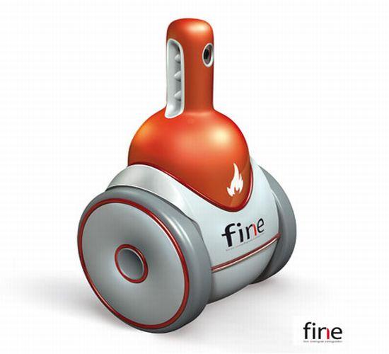 fine intelligent fire extinguisher1