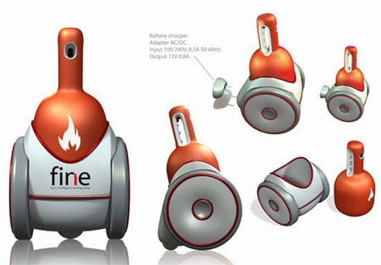 fine intelligent fire extinguisher2