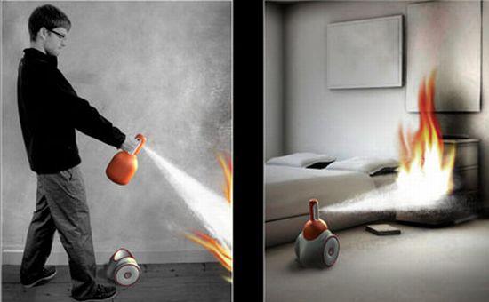 fine intelligent fire extinguisher5