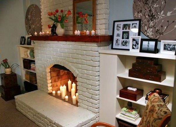 Tips Treat: Ideas to decorate fireplace mantle