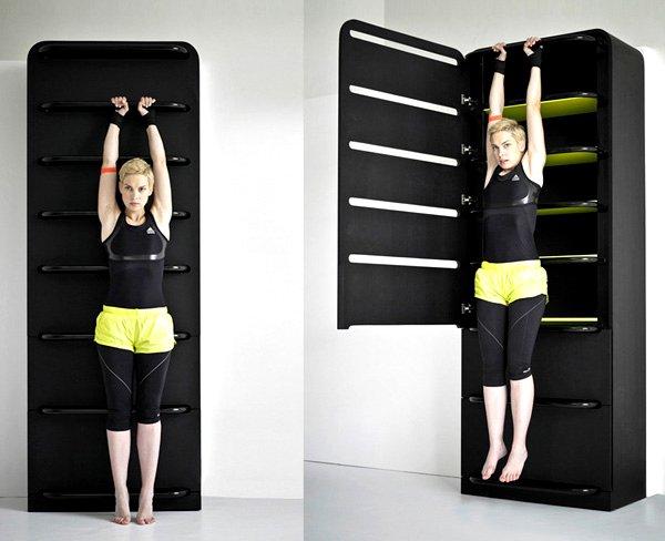 Fitness equipment & Storage