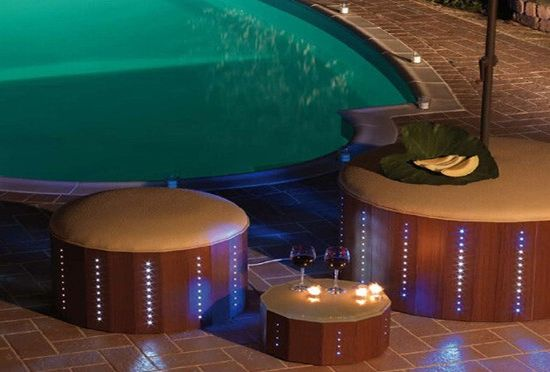 florastyle led poolside furniture