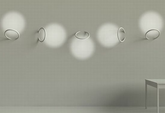 flos wall piercing lights 1