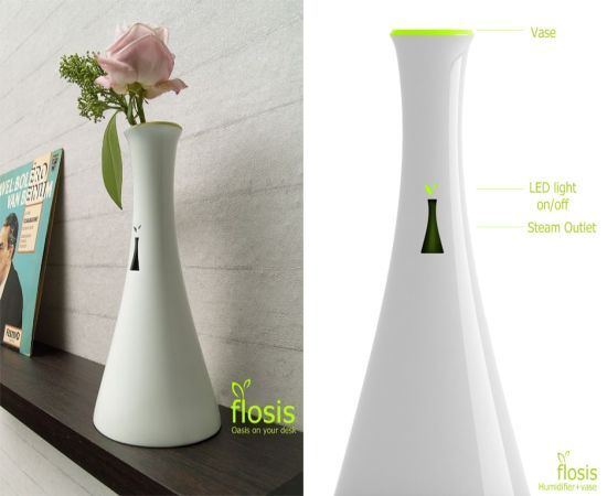 Flosis A Humidifier Disguised As A Vase Hometone Home