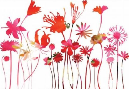flower wall decals1