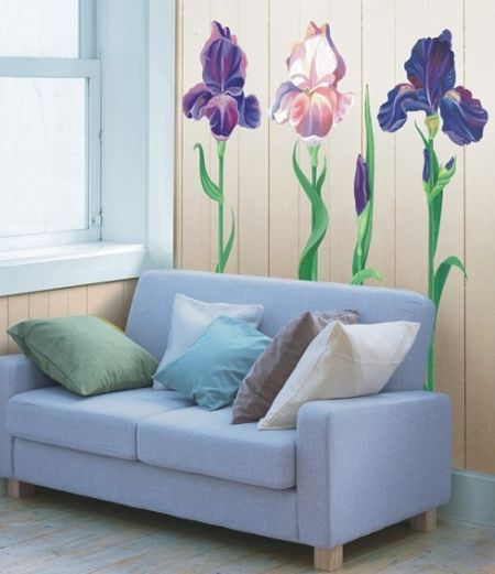 flower wall decals3