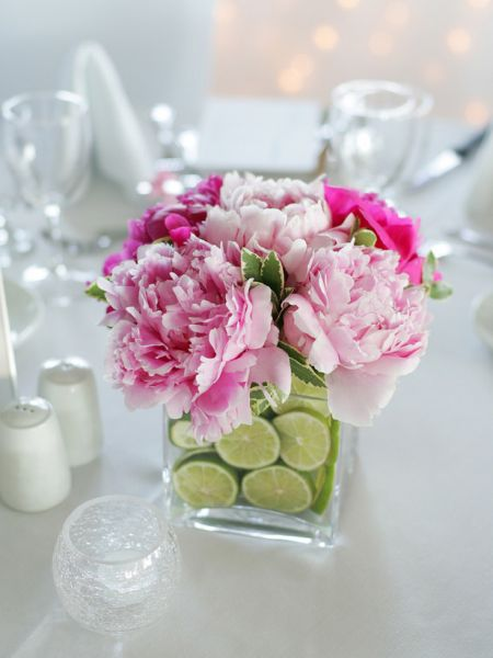 flower and lime
