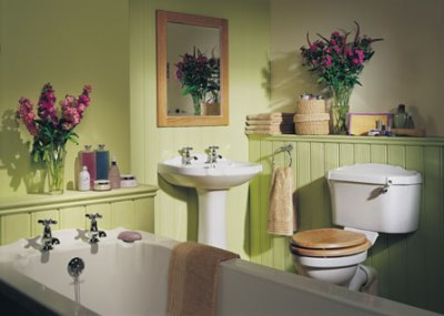 Flowers for your bathroom