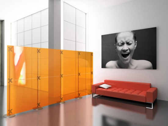 Fluowall room divider