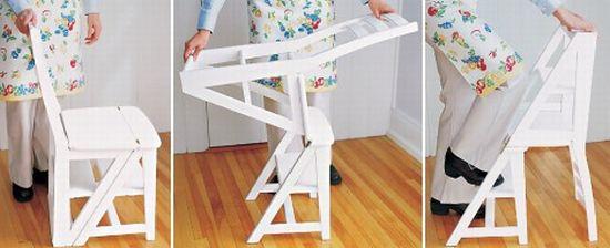 folding chair ladder