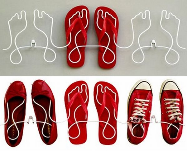 10 unique yet useful shoe rack designs
