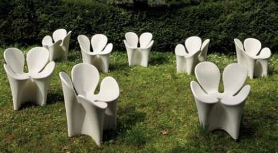 four leaf clover chairs by driade
