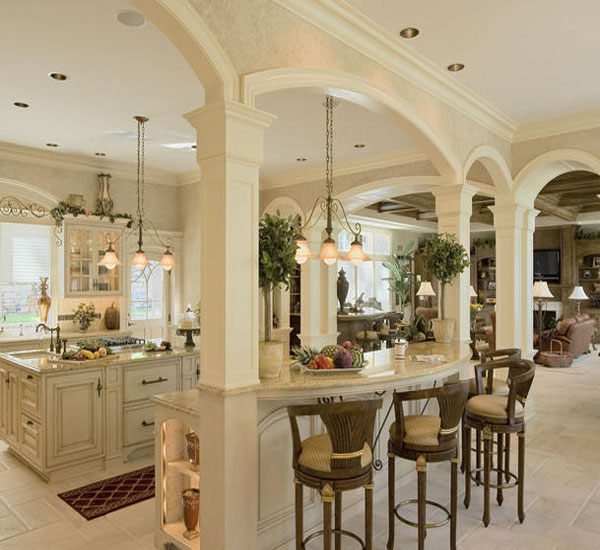 French-Styled Kitchen