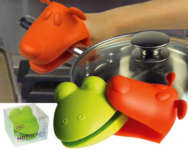 Frog & Dog Hot heads oven mitts