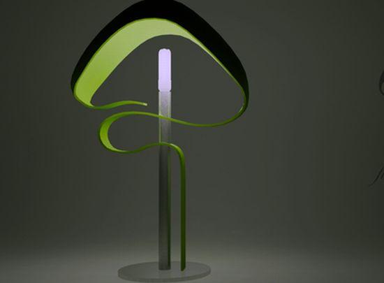 fungus lamp
