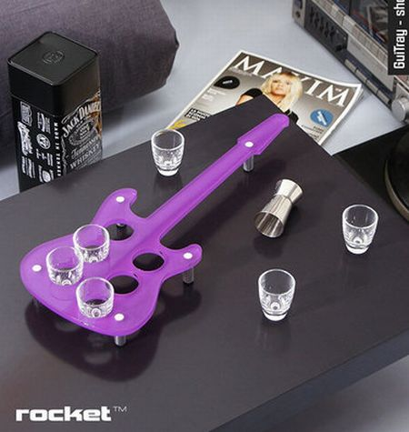 Give the rock band treatment to your abode with rocket for Funky home decor accessories