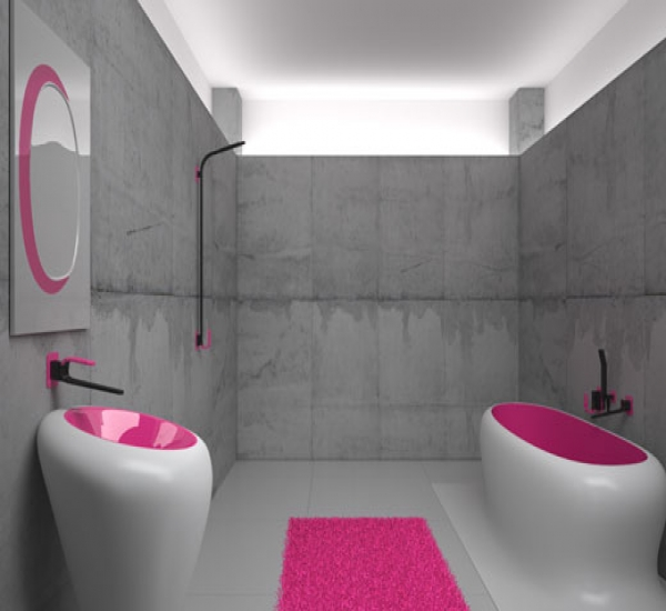 Dynamic bathroom design and decor ideas hometone home for Latest trends in bathroom decor