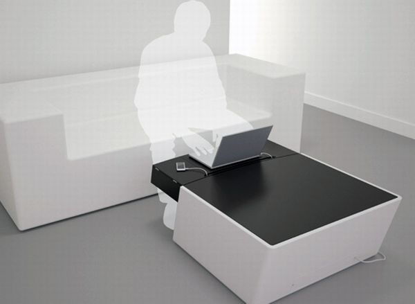 Gadget enable Coffee Table